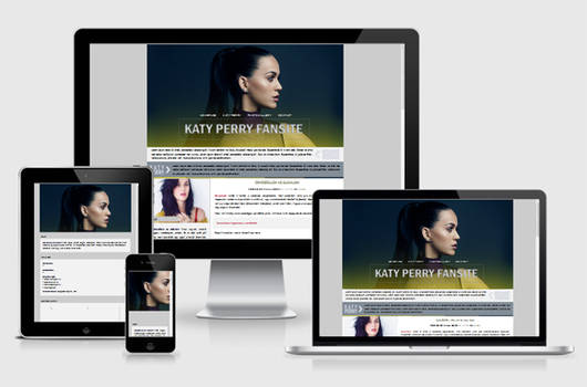 Katy Perry layout by fromninaa