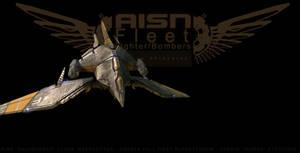 AFF:Fighter - Salamander by ikarus-tm