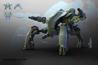 M.A.U. Mech Design by ikarus-tm