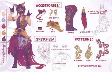 Yako Fox Spirit Character Design by BaroqueBeat