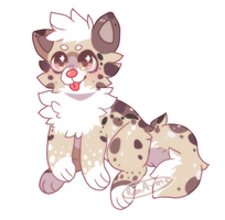 |CLOSE Auction|SB 50pts/$0.50 Cute Puppy Adopt by RenAyumeArts