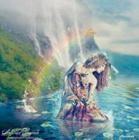 rainbow dryade by Creamydigital