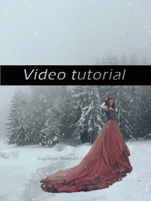 blanche neige tutorial by Creamydigital