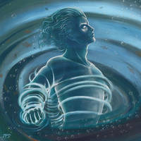 Water Elemental by juhamattipulkkinen