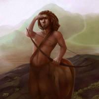 Centaur by juhamattipulkkinen