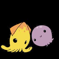Peebee and Jaye by Cdinorawr