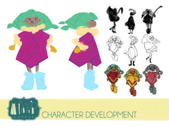 Harp Hopper Character Development by Mocksee