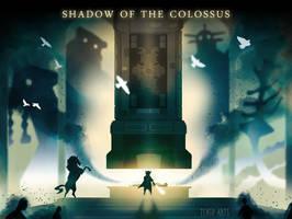 Shadow of the Colossus by Tengu-Arts