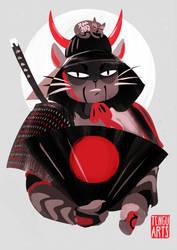 Samurai Cat (30min) by Tengu-Arts