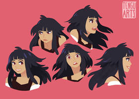 Nairn Expression Sheet by Tengu-Arts