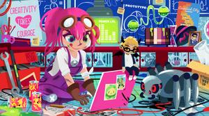 Natsumi's Lab by Tengu-Arts