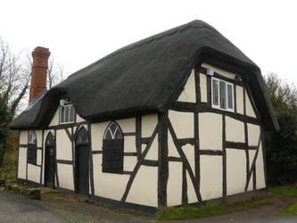 Thatched Cottage 2 by GRANNYSATTICSTOCK