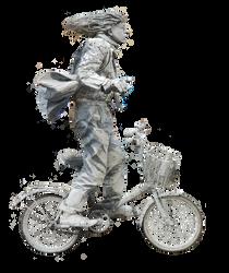 Grannysatticstock biker side view by GRANNYSATTICSTOCK