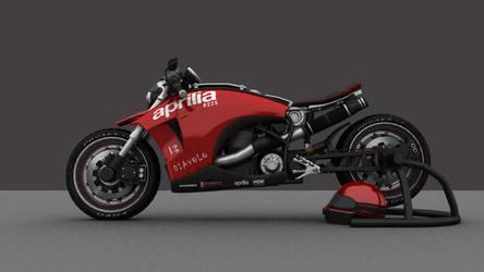 Aprilia 225 Diavolo Concept 2 by ReiForge
