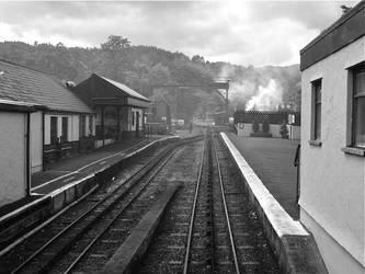 Mt Snowdon Train Station by CKPhotos