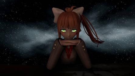 SFM - Just Monika by RoxasXIIkeys
