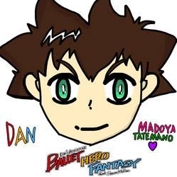 Ballet Hero Fantasy: Dan (Head FanArt) by JillyVampireTimeRush