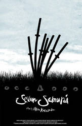 Seven Samurai Poster by SHAN-01