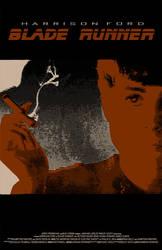 Blade Runner Poster - Rachael by SHAN-01