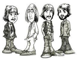 Beatles by garudanam