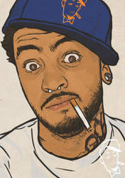 Travis McCoy by EarnSomeHeight