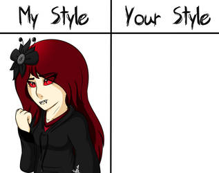 My Style VS Your Style: Nerak (READ DESC) by KATEtheDeath1