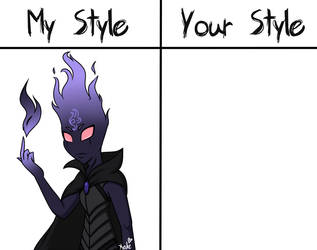 My Style VS Your Style: Morgrim (READ DESC) by KATEtheDeath1