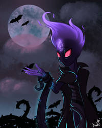 Shadowy Night (Halloween 2018) by KATEtheDeath1