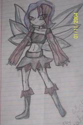 Anime Fairy Punk Pixie by RockEMsockEmKitten
