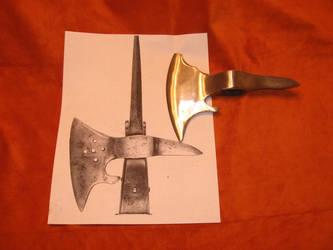 My new Ax to Grind by sgainbrachta