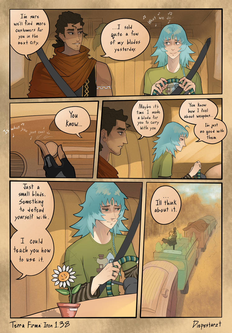 Terra Firma - Iron: Page 1.38 by DiePestArzt