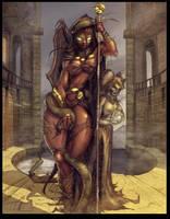 Basilisk Queen by vest
