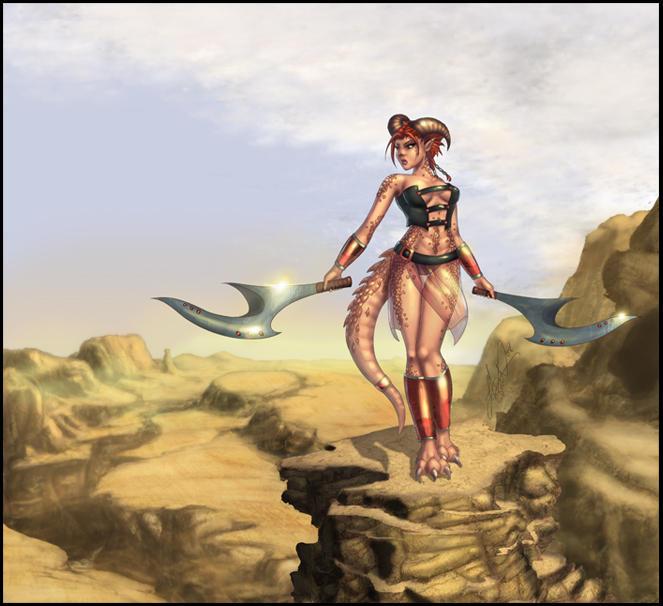 Malandra The Half Dragon by vest