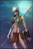 Attarra:Scarred Princess COLOR by vest