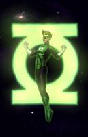 Green Lantern_COMMISSION by vest