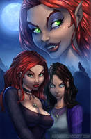 Ginger Snaps 001_Cover by vest