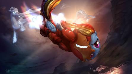 'I Am the Iron Pony!' by vest