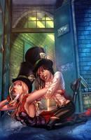 Wonderland Asylum #4 Cover D by vest