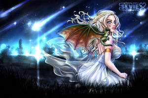 Daenerys Targaryen - Game of Thrones (SFW) by seviesphere