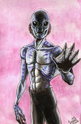 For Tarpalsfan, Abe sapien. by SkekLa