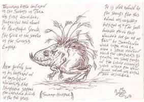 Thra fauna-Swamp hopper by SkekLa
