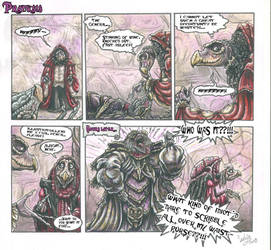 Pranksis dark crystal comic strip by SkekLa
