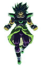 Wrathful Broly by NekoAR