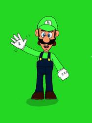 Luigi by Ryan91Studio