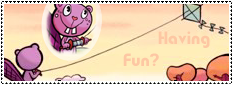 Having Fun Wide Stamp by ApocalipticFaint