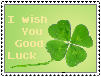 I Wish You Good Luck Stamp by ApocalipticFaint