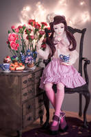 join me for tea ii by amomiu