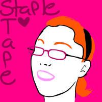 eye burning by StapleTape