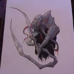 Inktober Monster Day5 by neometalero