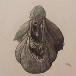 Inktober Monster Day10 by neometalero